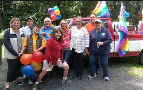 Pride Parade Truck